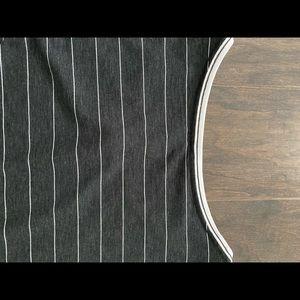 Lululemon black/white shirt, sz 10, new